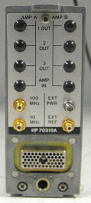 Hewlett-Packard 70310A MMS Precision Frequency Reference Module