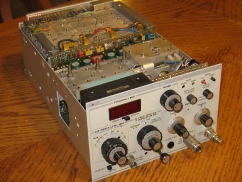 Hewlett Packard 8558B 01 MHz To 1500 MHz Spectrum Analyzer Plug In For 853A Mainframe