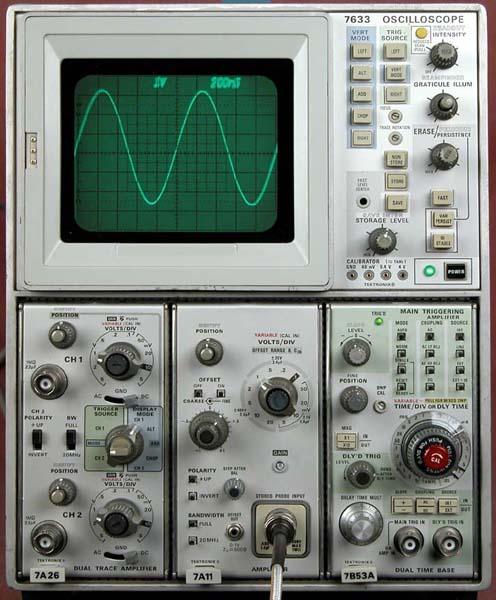 tektronix 7633 storage oscilloscope rh barrytech com Fluke Multimeter Manual tektronix 7633 service manual