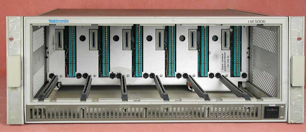 Tektronix Tm5006 6 Slot Mainframe For Tm500