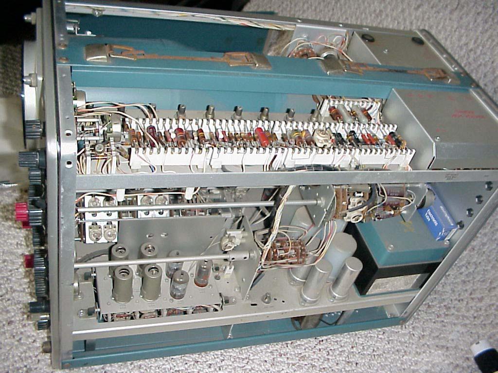 Vintage Tektronix Oscilloscopes : Tektronix a dual beam oscilloscope