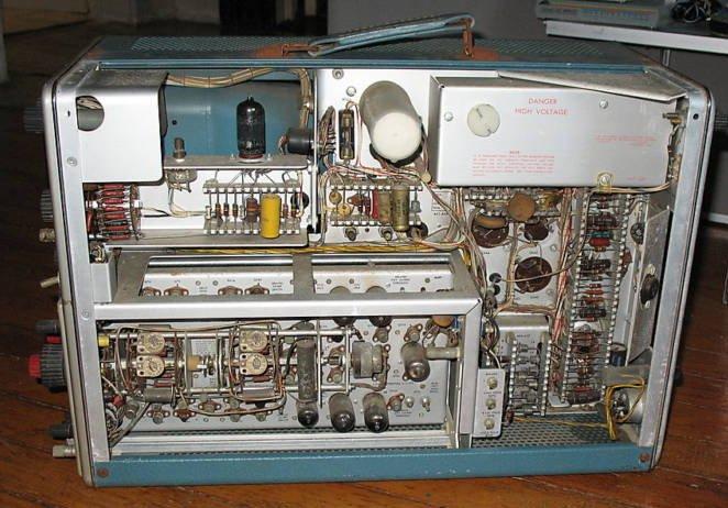 Vintage Tektronix Oscilloscopes : Tektronix a mhz oscilloscope