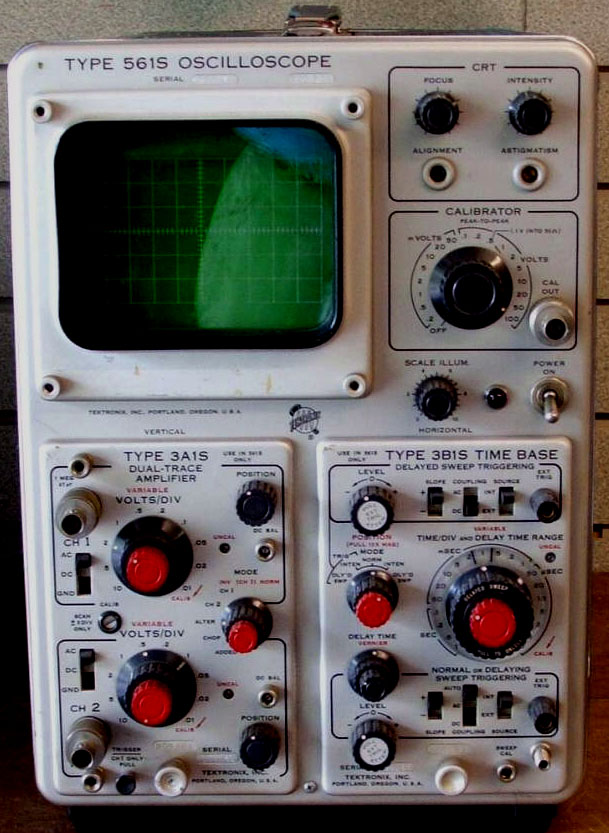 Vintage Tektronix Oscilloscopes : Old oscilloscope images reverse search