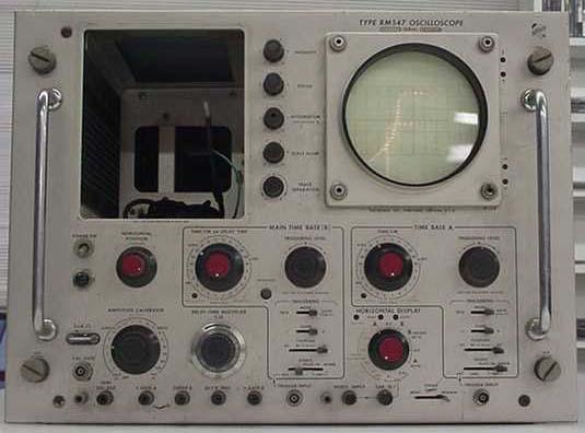 Vintage Tektronix Oscilloscopes : Tektronix rm oscilloscope